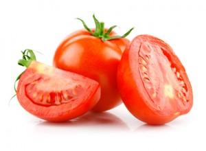 Tomaten-Gesichtsmaske