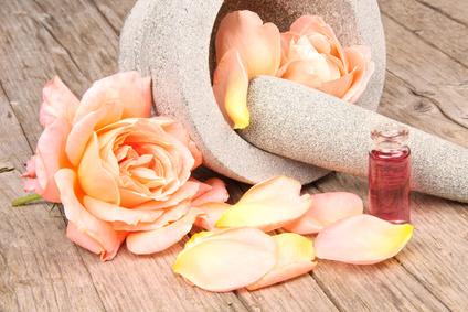 Ätherisches Rosenöl aus der Damaszener-Rose-Wirkung