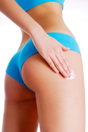 Seidig weiche Körperhaut-Kampf gegen Cellulite